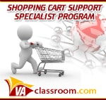 VAclassroom Shopping Cart Specialist